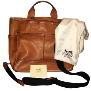 Coach Chestnut Travel Bag