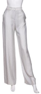 Atea Oceanie Wide Leg Pants White & Navy