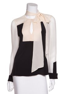 Prabal Gurung Top Black & Cream