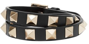 Valentino Valentino Rockstud Leather Choker Necklace