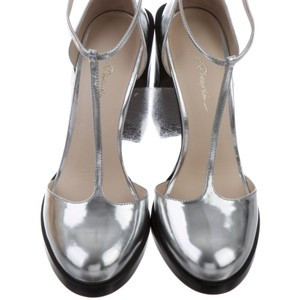 3.1 Phillip Lim silver Pumps