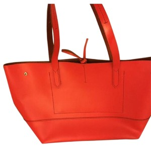 J.Crew Tote in Candy Apple Red