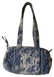 Vera Bradley Satchel in blue and white