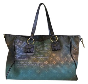 Louis Vuitton Limited Edition Duderanch Richard Prince Tote in Multicolor