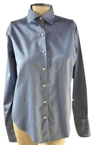 Brooks Brothers Button Down Shirt baby blue