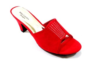 Marc London Red Sandals