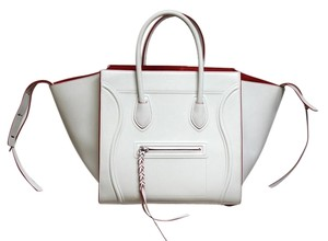 Céline And Card Tote in White