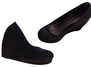 Mix No. 6 black Wedges