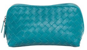 Bottega Veneta Teal Clutch