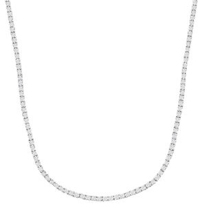 Other 4 7/8 ct Diamond Infinity Necklace