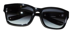 Bottega Veneta Authentic Bottega Veneta Black Plastic Woven Frame Sunglassesssss