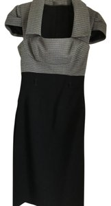 Black Halo Halo Cocktail Pencil Jacket Dress
