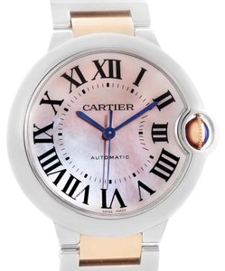 Cartier Cartier Ballon Bleu Midsize Ladies Steel Rose Gold Watch W6920070