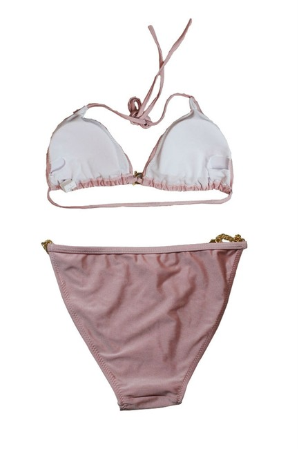 Other Free Shipping New's Hardware Push-Up Top Low Rise Panty Bikini Set Item No. : Lc40672-7