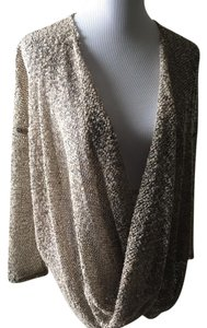 RXB Casual Woven Plunge Cardigan