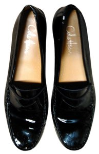 Cole Haan Cole-Haan Air-Erika-Penny-Loafers-Black-Patent-Leather-Sz-8 1/2 Flats