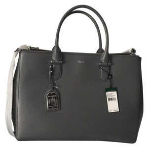 Ralph Lauren Satchel in Steel Grey