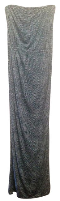 Item - Green White Blue Strapless Long Casual Maxi Dress Size 10 (M)