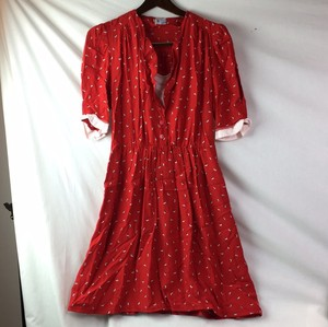 Young Fashion short dress red on Tradesy