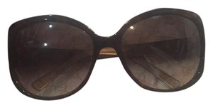 Dior Dior large brown sunglasses