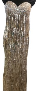 Night Moves Prom Collection Sequin Vintage Long Party Dress