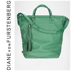 Diane von Furstenberg Tote in Mint Green