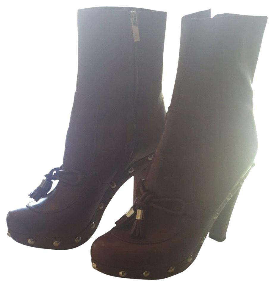Laurent Booties Laurent Brown Brown Boots Laurent Boots Booties Saint Boots Brown Booties Laurent Saint Saint Saint Brown fIp5wqwC