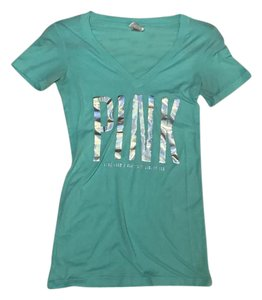 PINK T Shirt sea foam green