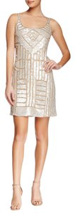 Adrianna Papell Beaded Sequin Tank Evening Dress