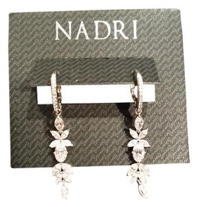 Nadri Flower Drop Earrings
