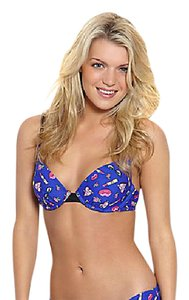Betsey Johnson BRAND NEW ICONIC ICONS MOLDED BRA TOP