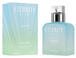 Calvin Klein ETERNITY SUMMER 2016 Calvin Klein EDT Spray Men 3.3 oz/ 3.4 oz/100 ml.