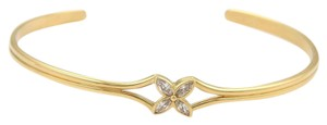 Tiffany & Co. Tiffany & Co. Victoria Diamond Floral 18k Yellow Gold Cuff Bracelet