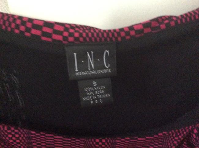 INC International Concepts Top Black & pink