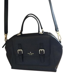 Kate Spade Leather Large Satchel Cross Body Bag