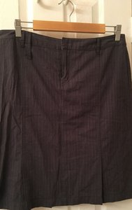 American Eagle Outfitters Skirt gray pinstripe