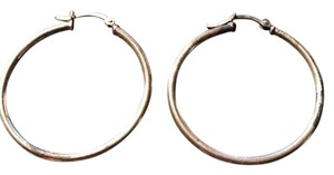 Other Sterling Silver Medium Hoops
