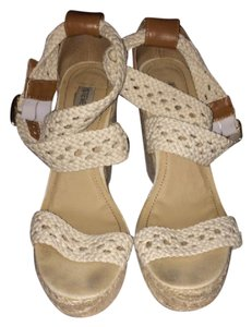 Steve Madden Off white Wedges