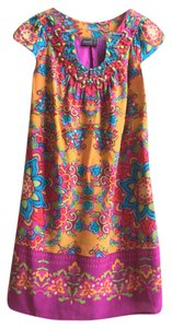 Muse short dress multicolor on Tradesy