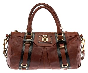 Marc Jacobs Bowler Satchel in Brown