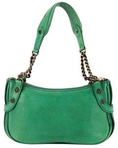 Juicy Couture Chain Pochette Leather Small Mini Shoulder Bag