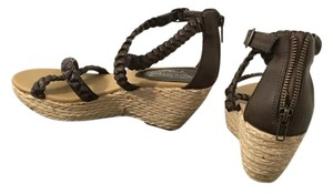 Unlisted by Kenneth Cole Brown Wicker Sandals