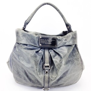 Marc by Marc Jacobs Distressed Leather Riz Lil Hobo Bag