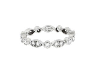 Tiffany & Co. Tiffany & CO Jazz has rhythm diamond eternity band in platinum size 7.