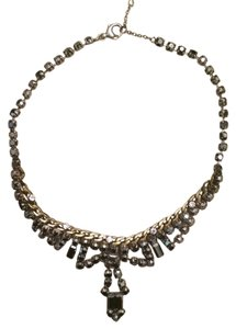 fossil Rhinestone Bibb Necklace