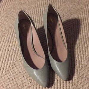 Chloé dove grey Pumps