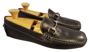 Black Man Loafers Drivers Moccasins. Shoes