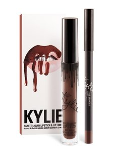 Kylie Cosmetics Kylie Cosmetics True Brown K Lip Kit Matte Brown Lipstick and Liner