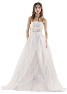 White By Vera Wang White By Vera Wang Textured Organza Wedding Dress In Ivory - Vw351178 Wedding Dress