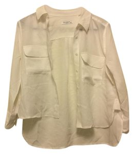 Equipment Button Down Shirt bright white